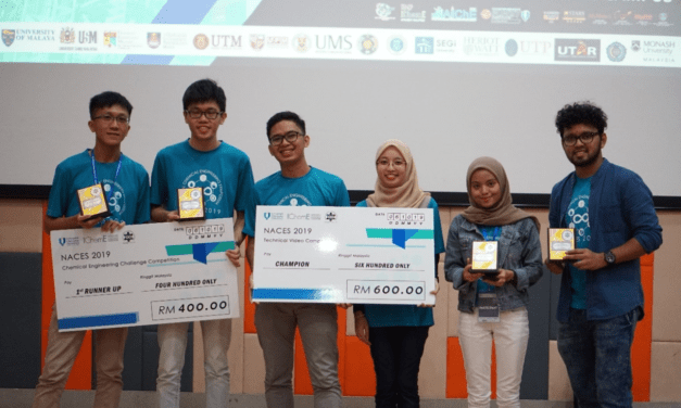 UTM Team Wins 4th Place in NACES 2019 and Awarded as Host for NACES 2020