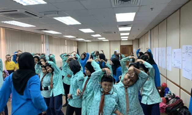 Girl Guides UTM Sucessfully Heighten Awareness on Image Myth among Brownies
