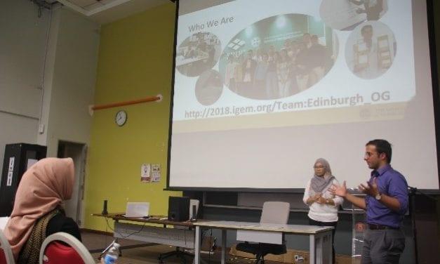 Lawatan Kerja International Genetically Engineered Machine Foundation (iGEM) ke Fakulti Sains