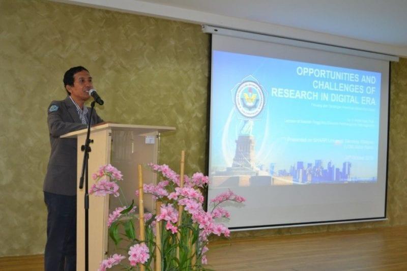 International Seminar on Research (I-SEE 2019) & Academic Visit from STIE Pembangunan TanjungPinang to School of Human Resource Development and Psychology