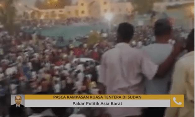 Prof. Dr. Kamaruzaman Yusoff Dijemput Bersiaran dalam AWANI Global membincangkan pasca rampasan kuasa di Sudan