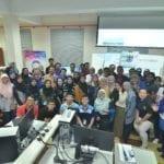 Pelajar FABU Cemerlang Dengan Inovasi Terkini Di Pertandingan GIS Hackathon 2019