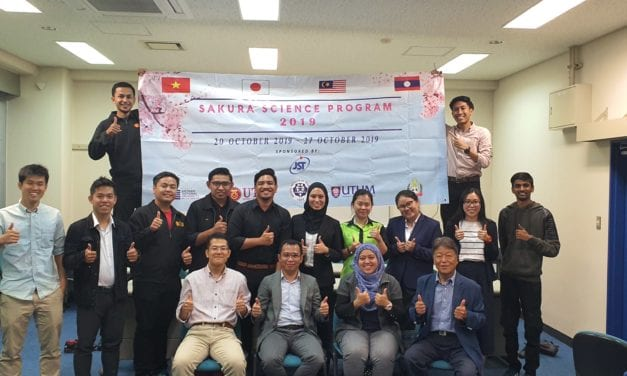 NITech Sakura's Program 2019 – ASEAN Universities (UTM-UTHM-VNU-NUOL)