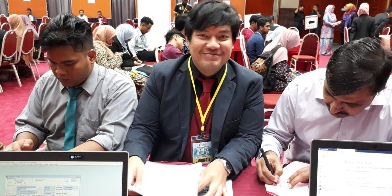 4 Pelajar Fakulti Sains Calon MPP Pilihan Raya Kampus UTM Sesi 2019/2020