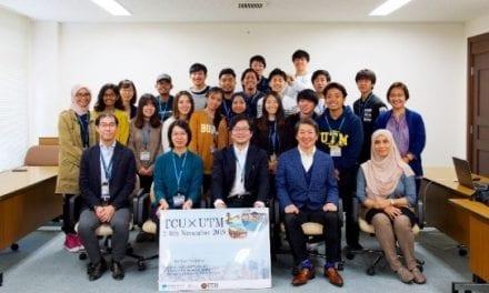 UTM Landscape Architecture Students Joined Sakura Science Program 2019 In Tokyo City University, Japan