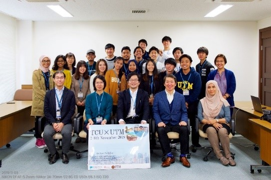 UTM Landscape Architecture Students Joined Sakura Science Program 2019 In Tokyo City University, Japan