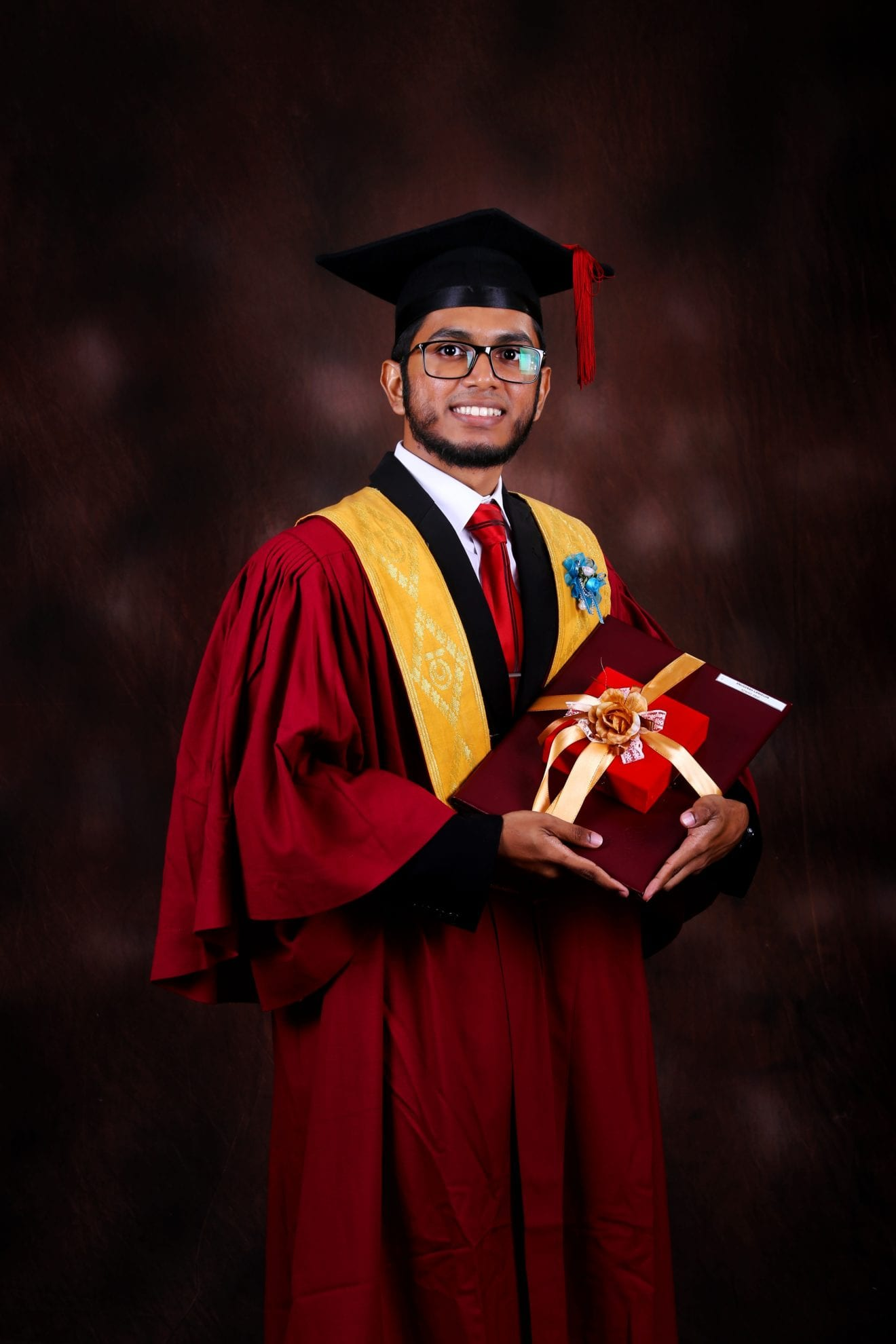 Chancellor's Award Winner, Azwad Abid, from School of Electrical Engineering
