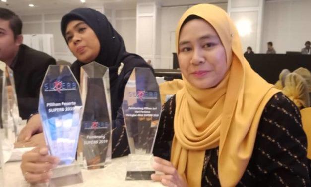 Dr. Dayana Farzeeha bawa pulang RM 500,000 geran pembangunan perniagaan SUPERB 2019