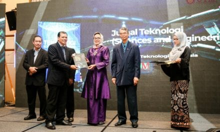 Jurnal Teknologi (Sciences & Engineering) Receives  Crème Potential Award 2019