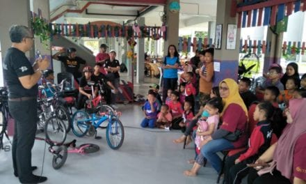 Combating 'Basikal Lajak' Issue through Collaboration with Strategic Partners