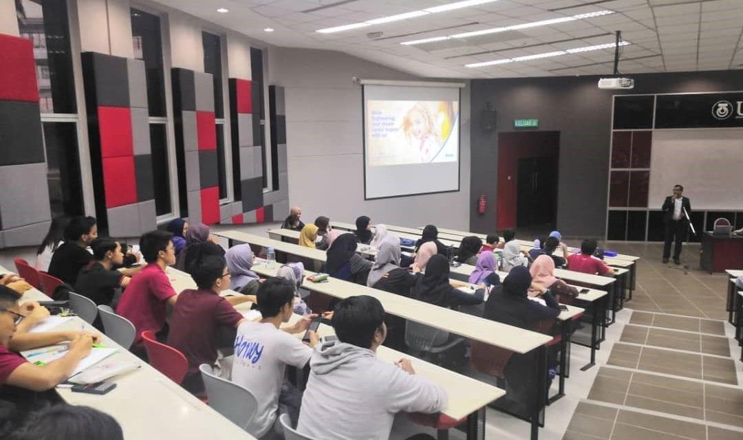 School of Electrical Engineering Organised Industrial Talk for First Year Undergraduates