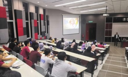 School of Electrical Engineering Organised Industrial Talk for First Year Undergraduates