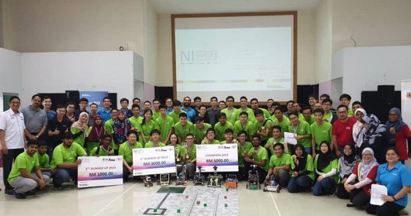 UTM won the top two prizes at NI Autonomous Robotics Competition 2019