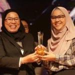 Intan Noor Liana terima Anugerah Naib Canselor dalam GEMA 2019