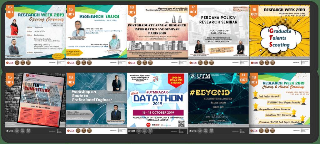 RFTI Research Week 2019 Programmes