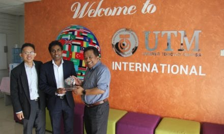 Visit by Professor Hassan Ugail to UTM as part of WTUN Exchange Program