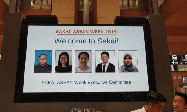 "Student Mobility: ""Science and Technology Students Exchange Program – Sakai ASEAN Week 2019"""