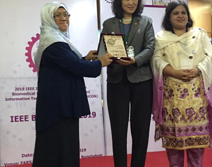 Assoc. Prof. Dr. Norliza Mohd Noor Invited as a Speaker at IEEE SPS Winter School 2019 on Multi-Modal Signal Processing in Dhaka, Bangladesh