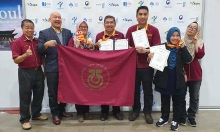 Penyelidik UTM menang 12 anugerah di SIIF 2019