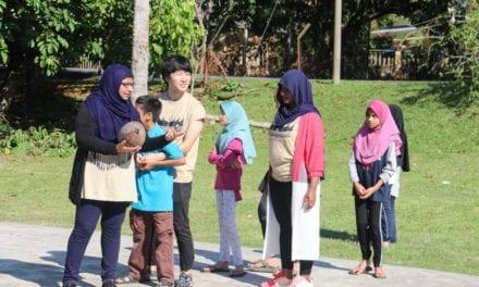 International students of UTM Cultural Immersion Program in Pelegong, Negeri Sembilan