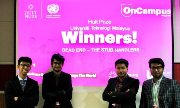UTM Hosts First Ever Hult Prize On-Campus Event