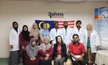 Industrial visit to Pro-Medi Laboratory and Questra Clinical Research in Penang