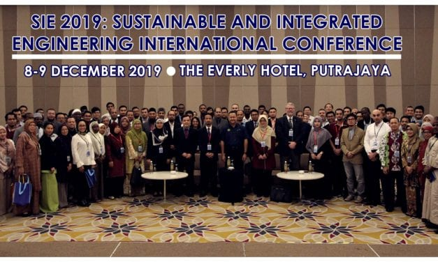 SUSTAINABLE & INTEGRATED ENGINEERING INTERNATIONAL CONFERENCE 2019 (SIE2019)