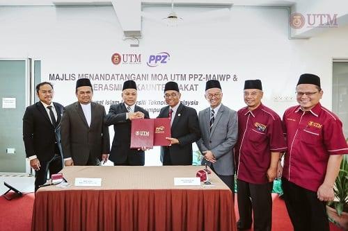 UTM universiti awam pertama dilantik ejen kutipan zakat PPZ-MAIWP