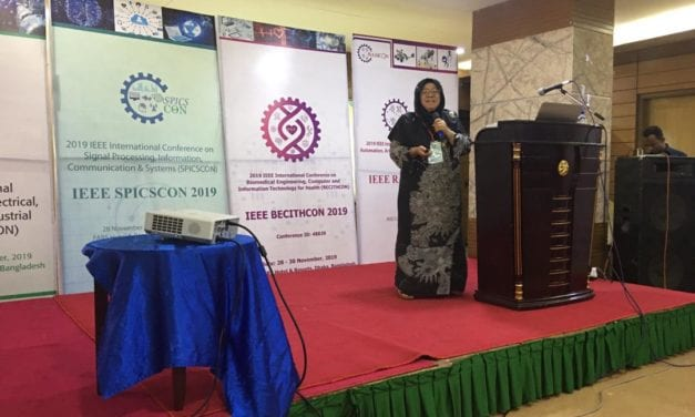 Razak Faculty of Technology and Informatics Expert Speaks at 2019 IEEE International Conference on Signal Processing, Information, Communication and Systems 2019 (SPICSCON2019)