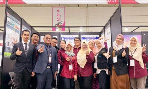 AMTEC team won Grand Prize and Special Award at SIIF 2019