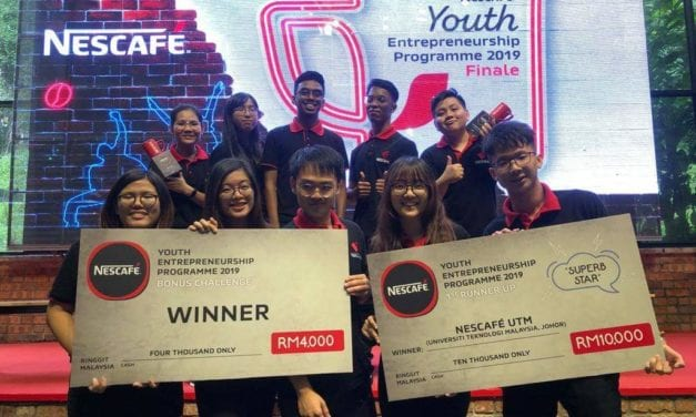 Double Joy For UTM Team At Nescafe Young Entrepreneurship Program