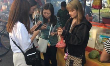 Summer School Explorace At The Pasar Malam Taman Universiti