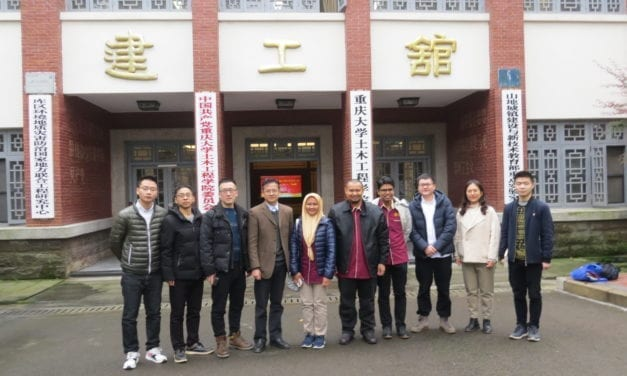 UTM Collaborates With Chongqing University In Civil Engineering Field