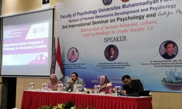International Seminar on Psychology by Universitas Muhammadiyah Purwokerto and SHARPS UTM