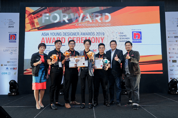 UTM Architecture Students Soars at The Nippon Paint Asian Young Designers Award (AYDA) 2019