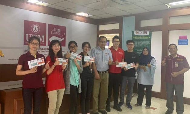 10 Mahasiswa Tionghua terima sumbangan Tahun Baru Cina 2020