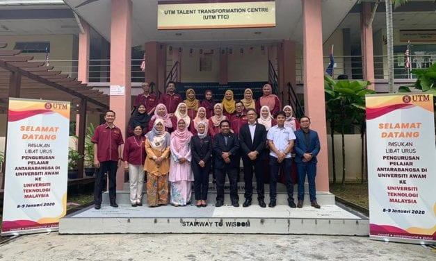 Sesi Libat Urus Terhadap Pengurusan Pelajar Antarabangsa di UTM
