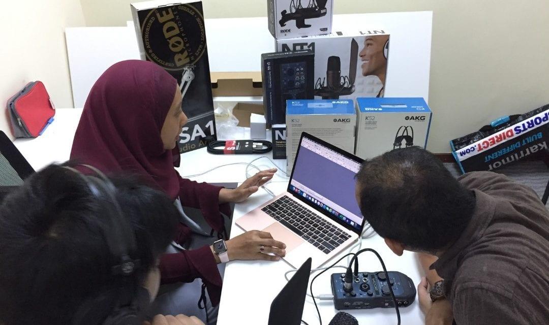 MJIIT Media Broadcast Studio
