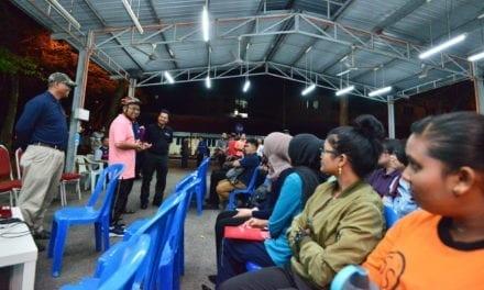 Naib Canselor UTM lawat kolej kediaman mahasiswa