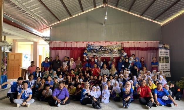 Mahasiswa KTHO, UTM Santuni Warga Ranau dalam Program Kembara Sabah 2020