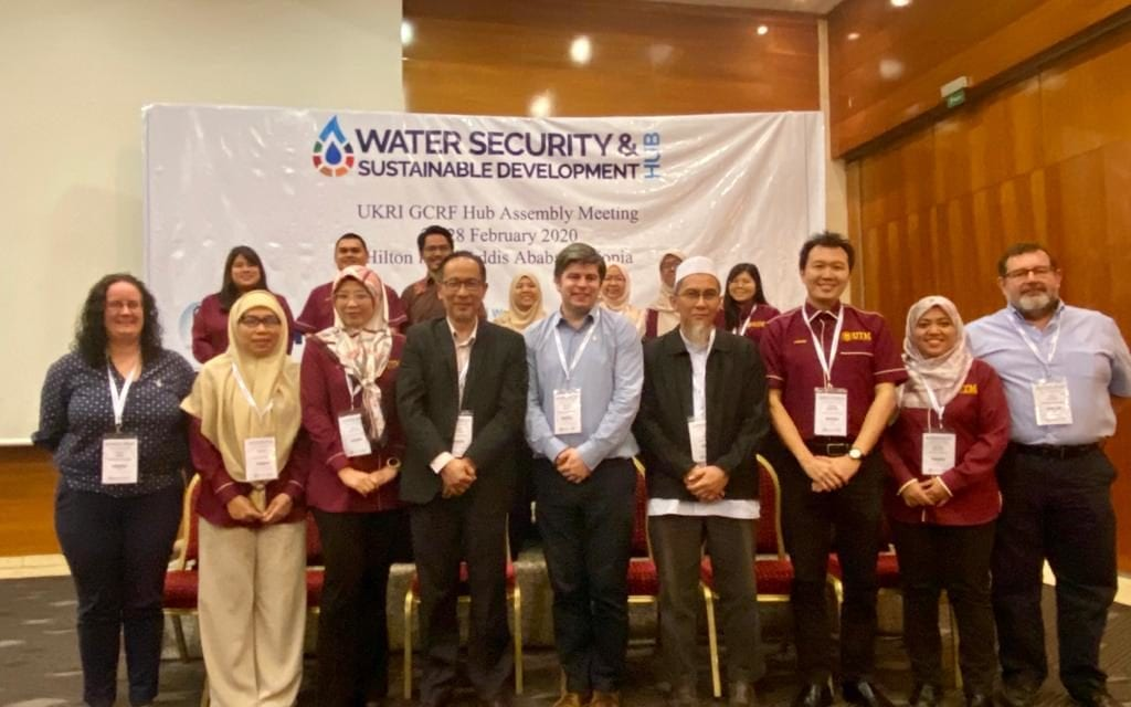 Second GCRF Water Security and Sustainable Development Hub Assembly 2020 at Addis Ababa, Ethiopia