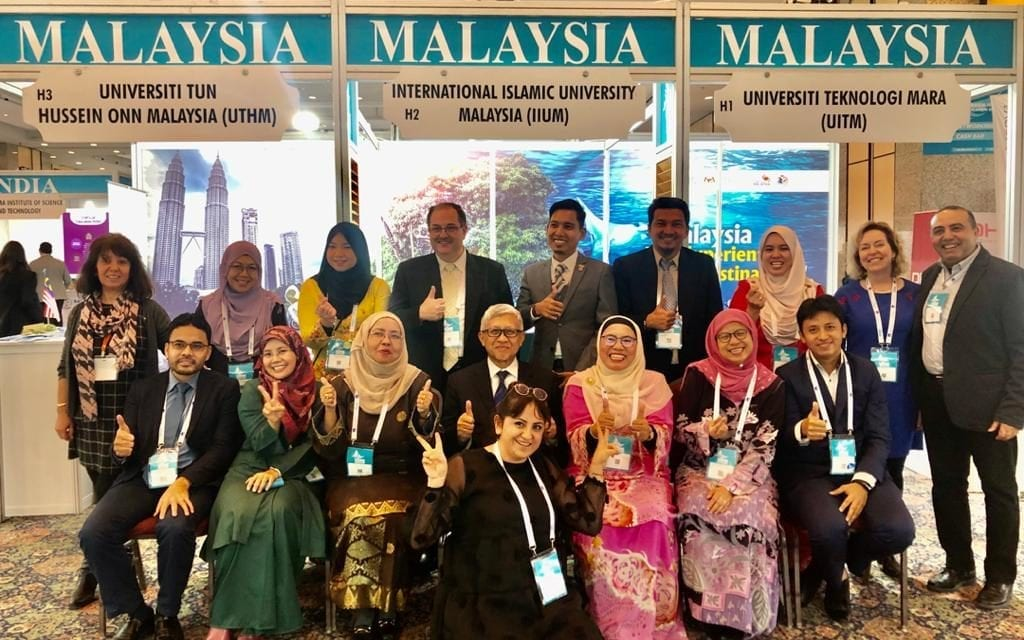 UTM joined the largest international education event in Eurasia