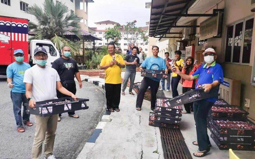 Staf Jabatan TNCP 'Hero Tak Didendang' Bagi Pelajar Sepanjang PKP di UTM
