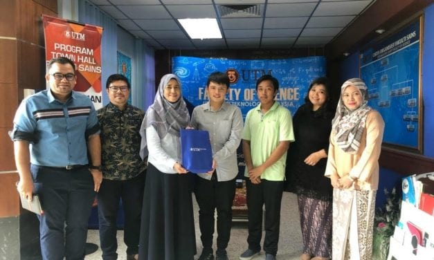 UTM Nurturing Future Scientists via Global Mentoring Program