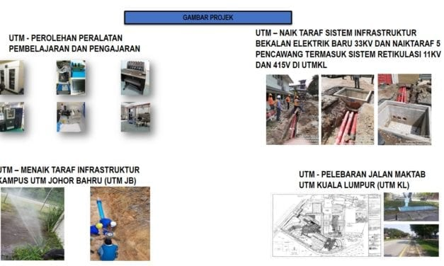 UTM Has Spent RM471.87 Million for Campus Facilities Upgrade