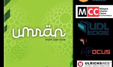 Jurnal UMRAN berjaya diindekskan dalam ASEAN Citation Index (ACI)*