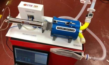 Penyelidik UTM Bangunkan Prototaip Mesin Bantuan Pernafasan Guna Teknologi Cetakan 3 Dimensi