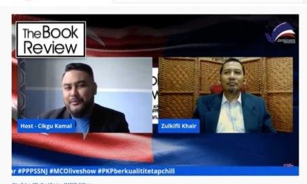 Staf FSSH Panel Jemputan Kempen 'Anak Johor, Bangsa Membaca'