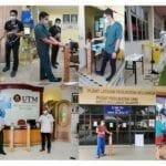Covid-19: FTIR Cipta Dispenser Sanitiser Kendalian Kaki