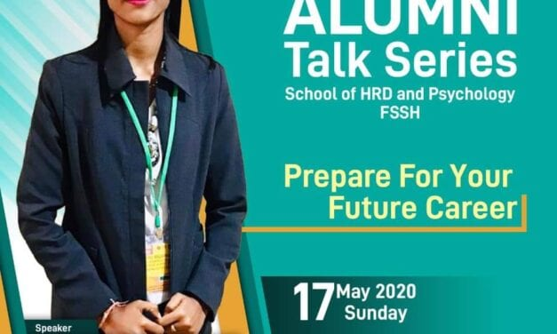 SHARPS Jayakan Program Alumni Talk Series: Prepare for Your Future Career
